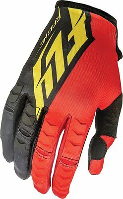 Fly Racing Mens Kinetic Textile Gloves-5 sizes! FREE SHIP ADULT & YOUTH