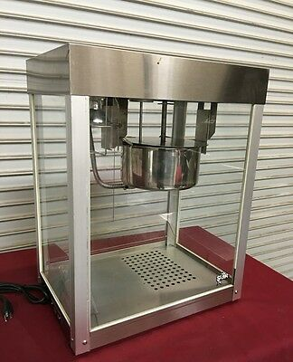 Popcorn Popping Machine Star 39S-A #6639 Commercial Popcorn Maker NSF UL