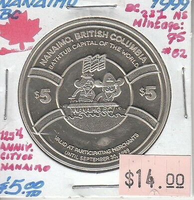 Nanaimo British Columbia Canada - Trade Dollar - 1999 NS