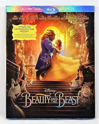 Disney DVD & Blu Ray & Digital HD Beauty & the Beast Emma Watson 100% AUTHENTIC