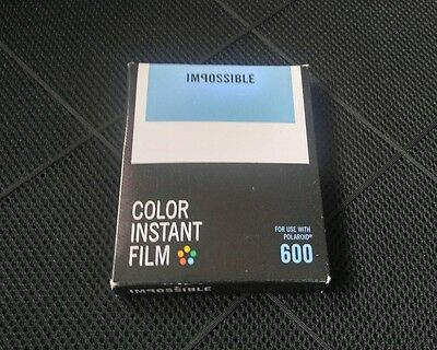 Impossible Instant Lab Color Film for 600 Type and I-1 Cameras