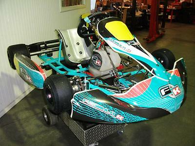 Go Kart - Formula K DD2 Rolling Chassis As Raced By Mark Flood