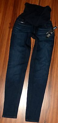 Nwt A Pea In The Pod Brand Maternity Dark Skinny Jeans Size 30 X 31