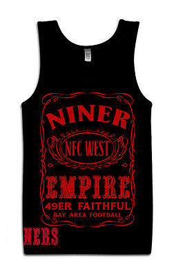 49ers Niner Empire Tank Top Black   Red (New) San Francisco Faithful Edition 291911dfd