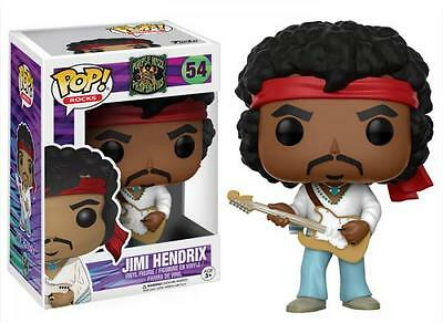Funko Pop! Music Rocks 54 Jimi Hendrix Pop Vinyl Action Figure FU14352 Jimmy Jim