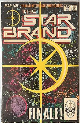 The Star Brand #19 Finale! (1989, Marvel) NM