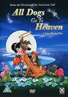 All Dogs Go To Heaven [DVD] New PAL Region 2