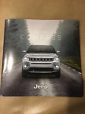 2017 JEEP COMPASS ALL-NEW 42-page Original Sales Brochure