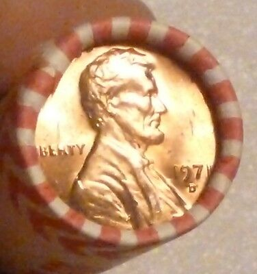 1971D Lincoln Memorial Cent Uncirculated Original Penny Sealed  Rolls