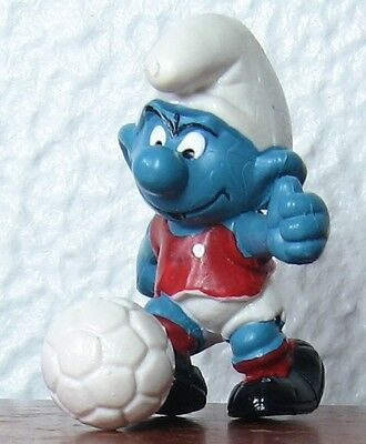 Smurfs - Soccer Smurf - Red With White Dot On Shirt!