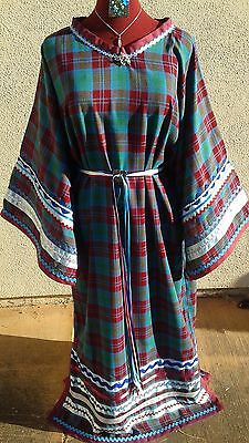 Native American T Ribbon Dress Powwow Regalia , Jewelry, Purse