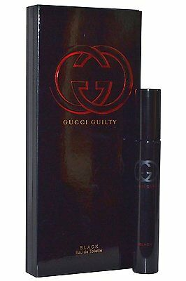 GUCCI GULITY BLACK 0.25 oz (7.4 ML) EDT Spray Mini Women