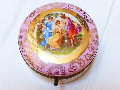 Vintage Made in Germany Porcelain Trinket Box
