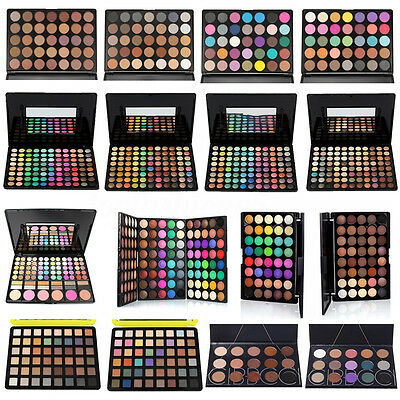 Palette Ombretti Cosmetic Matte Smoky Eyeshadow Shimmer Trucco Opaco Ombretto