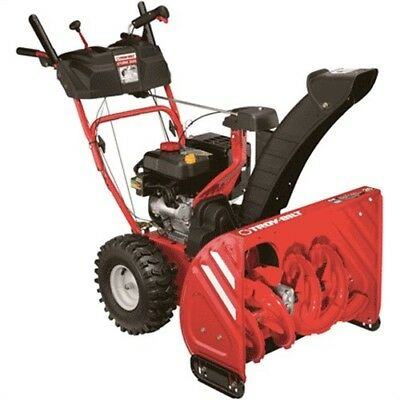 "26"" Width Troy-Bilt Deluxe Snowthrower W/Electric Start, PartNo 31AM66P3766, by"
