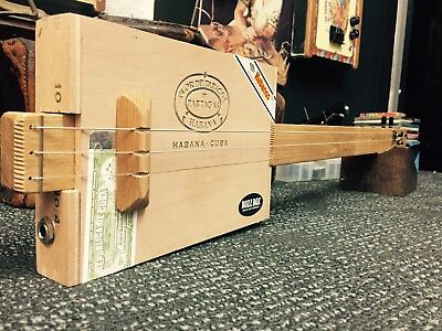 Buzz Box Cigar Box Guitar - Montecristo Box