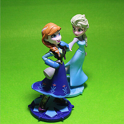 Princess Figure Doll Models Ornaments Party Cake Toppers Decor Girls Kids Toy