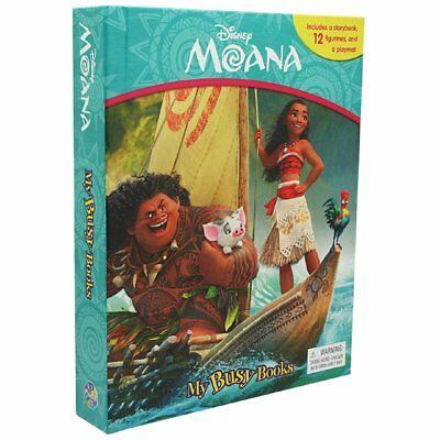 Moana - My Busy Books Educational Toys Books