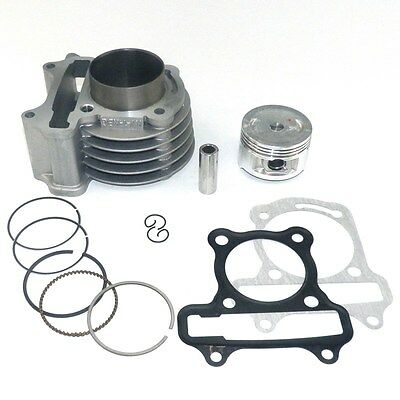 50mm Performance Big Bore Cylinder Body Chinese GY6 50cc 139QMB Scooter Parts 4T