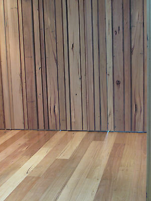 Recycled re milled Messmate 165 x 19 mm flooring