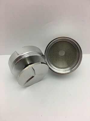 Powder Spice Grinder Hand Mill Funnel Large Metal 3 Piece 2.12 inch By TitanOwl