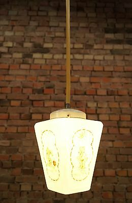 Vintage Ceiling Lamp Art Nouveau Lamp Light Ceiling Light Children's Lamp Glass
