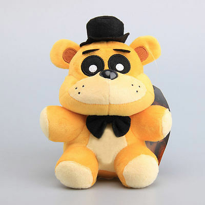 New Golden Freddy Exclusive Five Nights at Freddys  6 ''Plush Toy Babys Kids Toy
