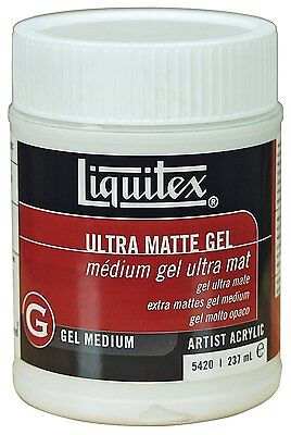 Liquitex Professional Medium Matte Ultra Gel 237ml Artist Paints Quality Art
