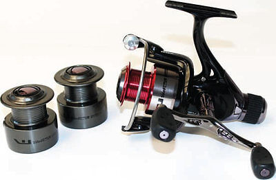 World Class 4000 Double Handle 8BB Rear Drag Coarse Feeder Match Fishing Reel