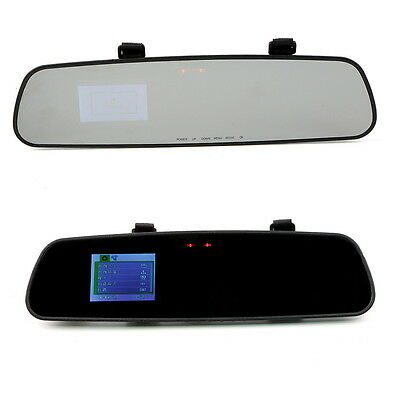 Car HD 1080P 2.7'' Video Recorder G-sensor Dash Cam Rearview Mirror Camera DVRT6