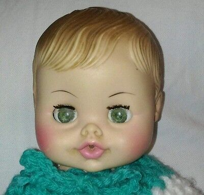 Vintage Horsman Drink And Wet Baby Doll Eyes Open And Close