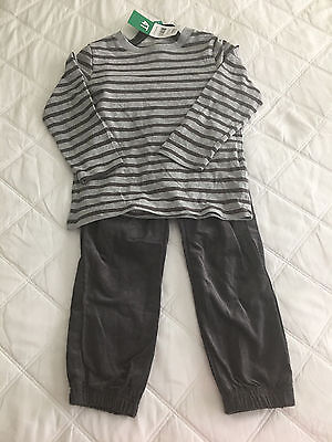 """*New with Tags* """"Little Me"""" 2 Piece Shirt and Pants Set Size 4T"""
