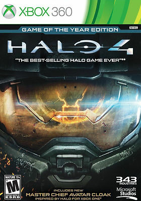 NEW SEALED Halo 4: Game of the Year Edition GOTY Xbox 360 2013