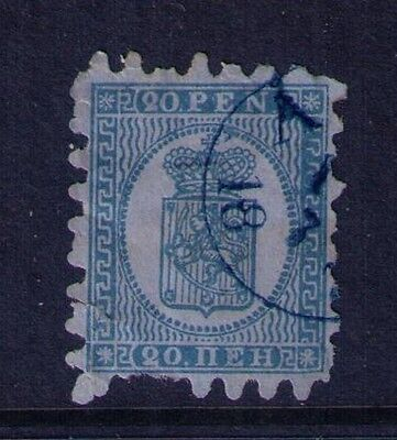 Finland Stamp ,Coat of Arms SC # 9 Used