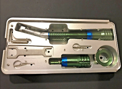Implant Torque Wrench Handpiece Universal Adjustable Setting + Disinfection Box