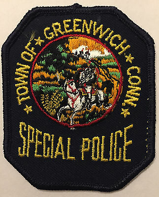 Greenwich Connecticut CT Special Police Sheriff Patch