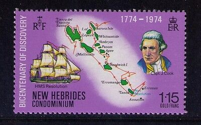 New Hebrides Stamp, Bicentenary of Discovery SC#192 MNH
