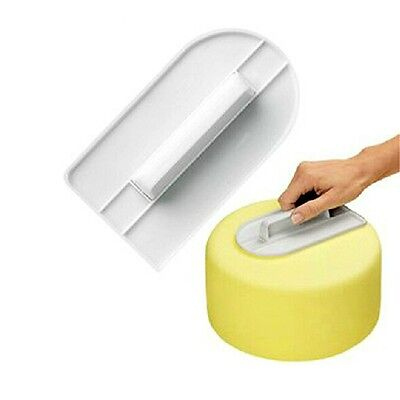 New Cake Decorating Smoother Tool Craft Icing Baking Sugarcraft Fondant Finisher