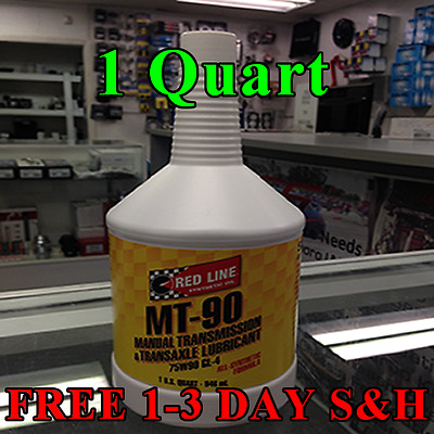 Red Line Oil 50304 Synthetic Manual Transmission Lubricant MT-90 75W90 GL-4