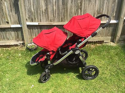 Baby Jogger City Select- Single or Double Seat Stroller/pram/pushchair