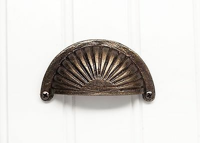 BUNDLE OF 5: cast iron drawer pulls