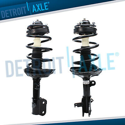 Monroe 2X Front Pair Quick-Strut Complete Strut Assembly Fit 99-02 HONDA ACCORD