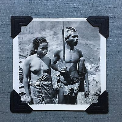 Collection Early 20th Century African Original Photographs, Including Natives