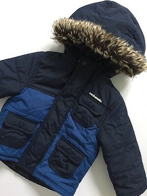 Mackenzie Navy Blue Hoodie Jacket Age 18-24 Months Autumn Winter