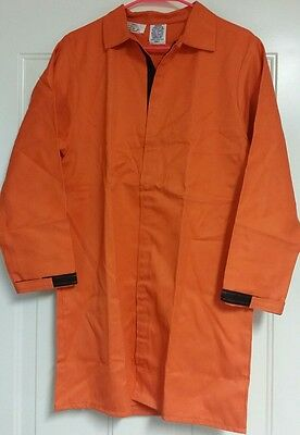 STEEL GRIP INC. Westex Vinex/FR-9B Welding Orange Shirt! In SMALL,XL,3xL OR 5XL