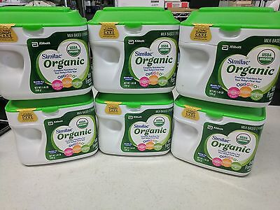 (6) Similac Organic Infant Formula w/ Iron Powder 1.45 lbs Each | Ships Free