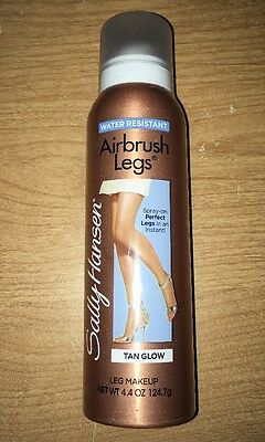 Sally Hansen Airbrush Leg Makeup TAN Glow 4.4 oz FREE SHIPPING