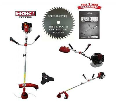 NEW 2017 XXX TOOLS 52cc PETROL 3 IN 1 STRIMMER BRUSH CUTTER GRASS TRIMMER + GIFT