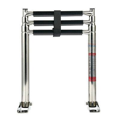 3 Step Telescoping Boat Ladder Amarine-made Stainless Steel  Swim Step Strong