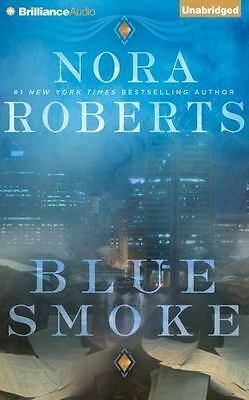 BLUE SMOKE unabridged audio book on CD by NORA ROBERTS - Brand New - 14 Hours